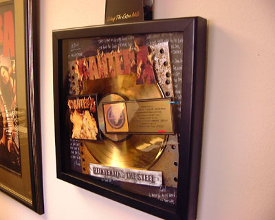 Gold Record for Reinventing the Steel
